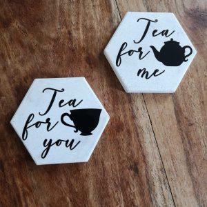 Tea for you and me coasters main photo