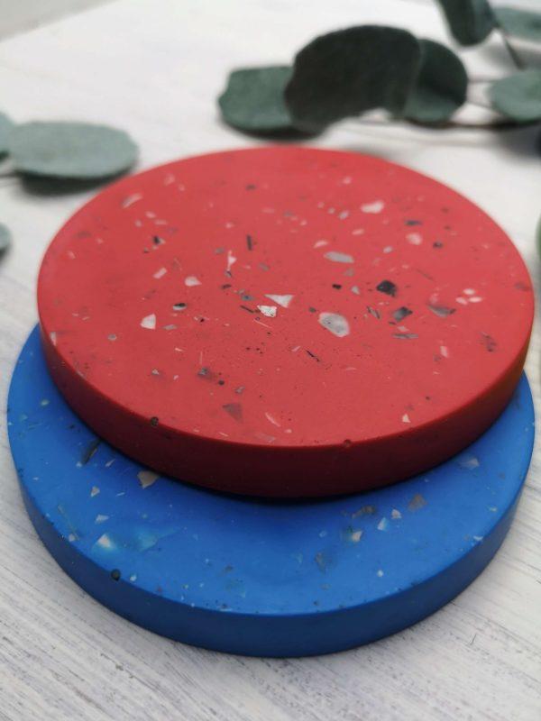 Bright Terrazzo Coasters photo 3
