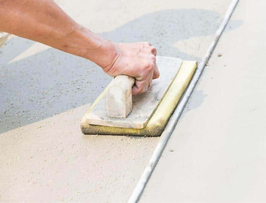 how long does it take concrete to dry