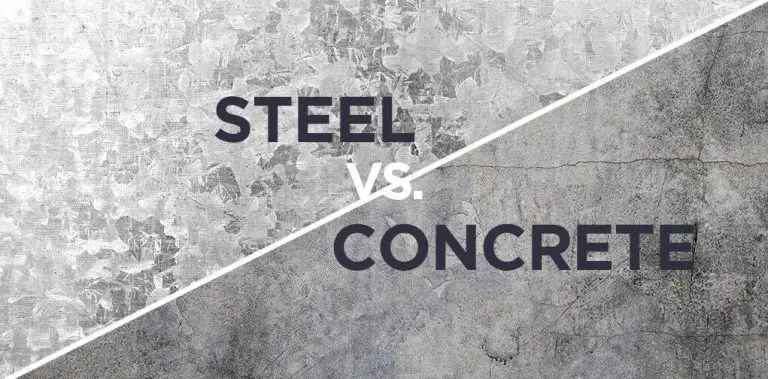 is steel stronger than concrete