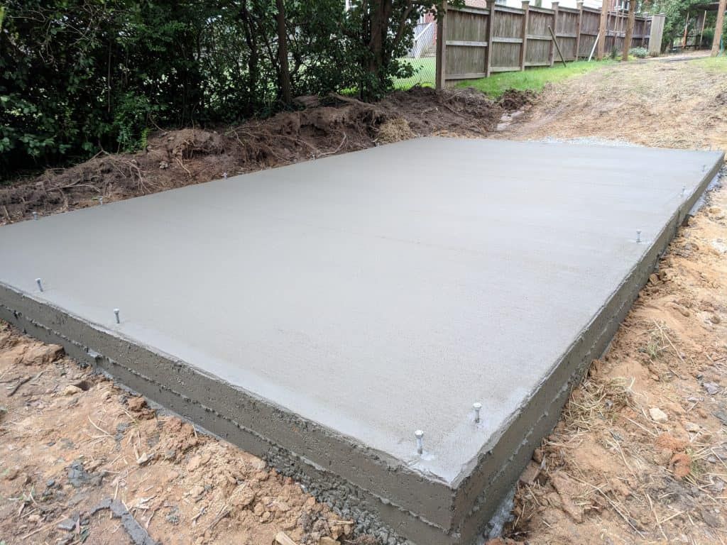 Constructing a Garden Shed Base