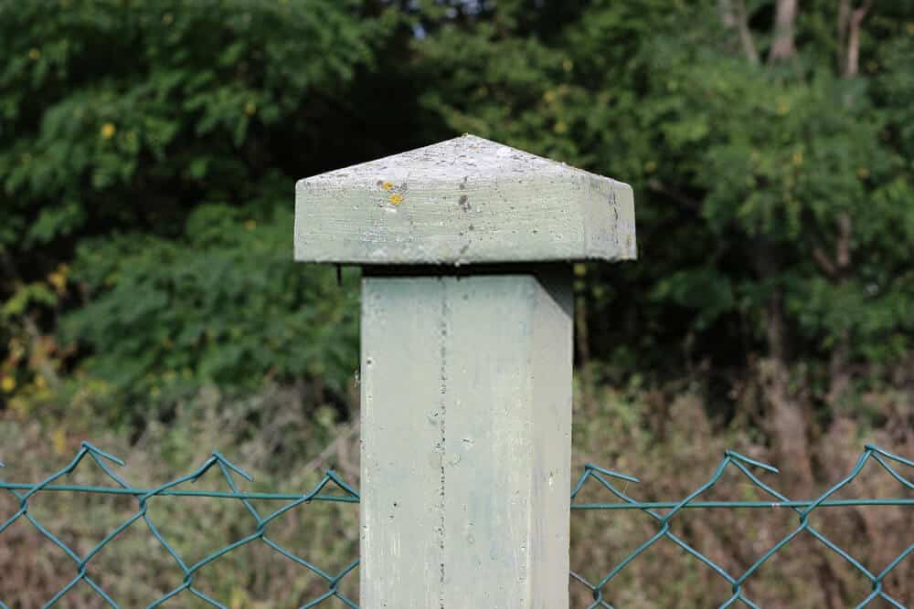 What is a fence post