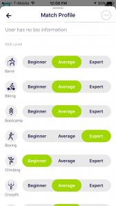 Fit Match App