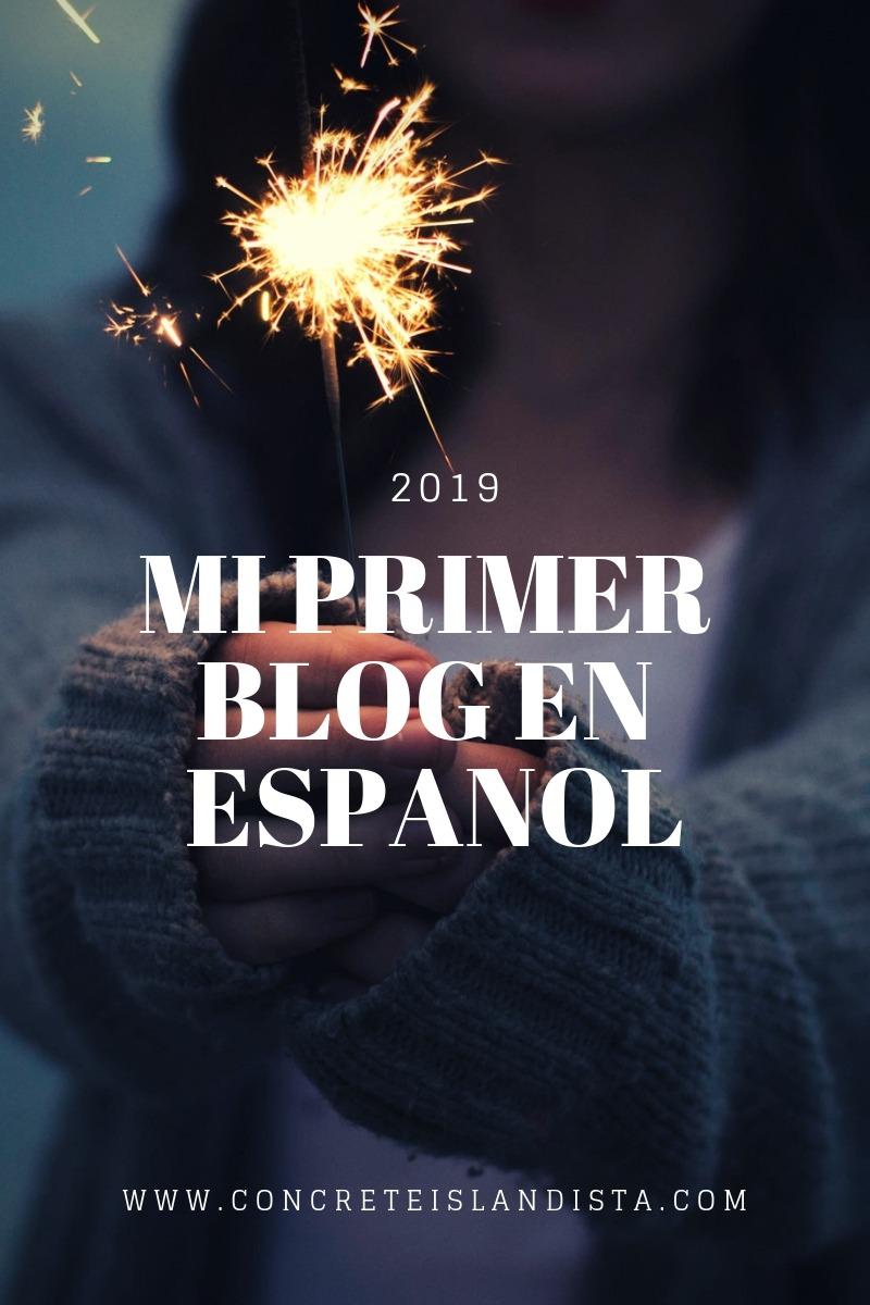 primer blog en espanol