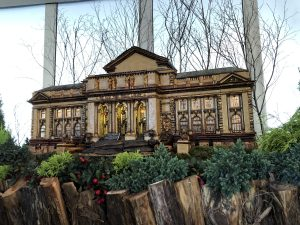Visitando a el espectacolo de trenes en el Jardin Botanico NY-Visiting the Holiday Train Show at the NY Botanical Garden