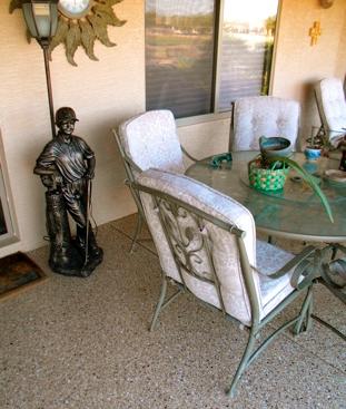 Concrete Patio Floor Coating Experts in Arizona