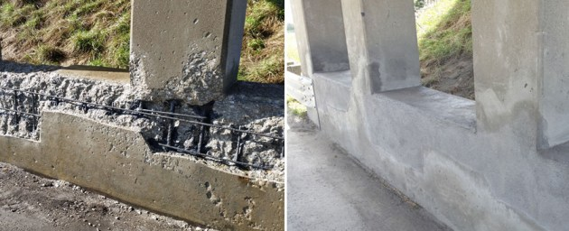 Structural concrete repairs