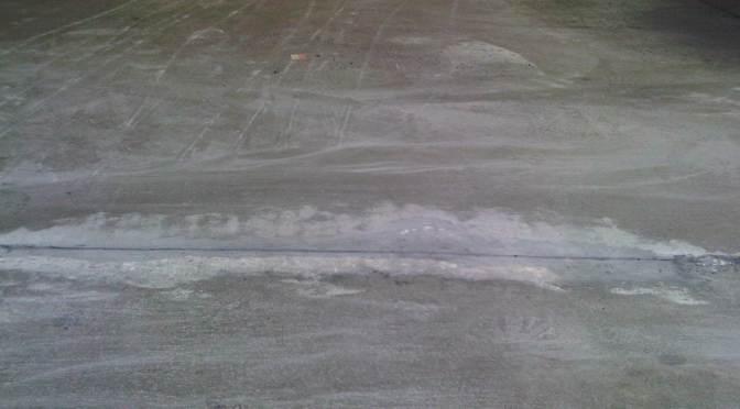 Emergency Concrete Repair at Wal-Mart Garden Center