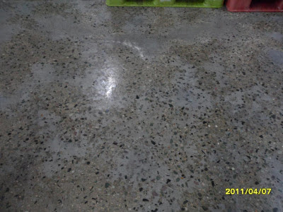 Polishing un-polishable Concrete