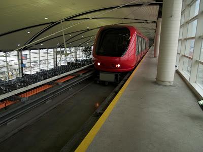 Detroit Airport tram repairs