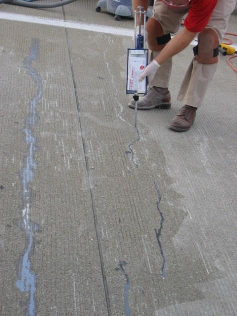T3 Bridge Crack Repairs 2005 008