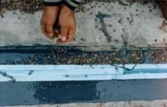 Bridge joint headers with Flexible Cement II™.