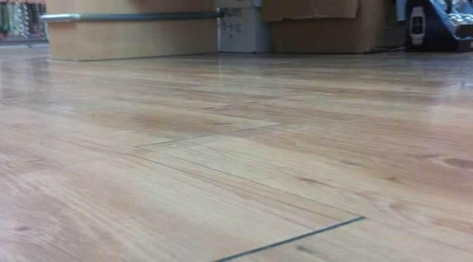 Crack Repair Under Vct Or Laminate Flooring Roadware Incorporated