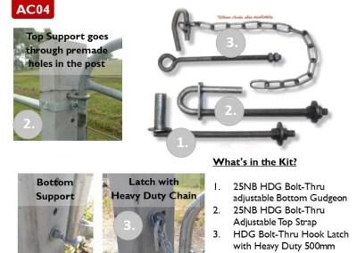 AC04 – Gate Kit