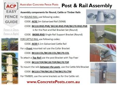 ACP Info Sheets – Assembly – PostnRail B