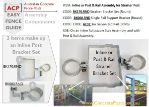 BK170.RND & BK000.RND for a 2-way on Strainer