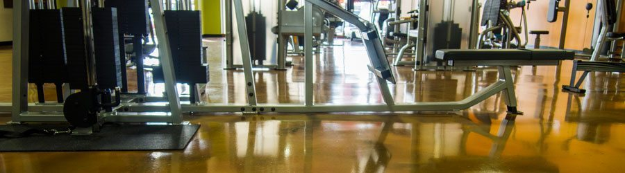 Clear Indoor Floor Coatings | Clear Sealers for Indoor Floors. High shine gloss polyurethane floor coating material. Stain finish concrete floor coating in matte sheen. Epoxy floor coatings for indoor colored concrete floors. Polyaspartic material systems for concrete floor products.