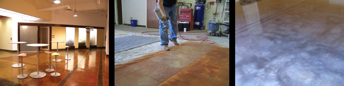 Wood Finish Concrete Training Class | Concrete Stain Training in Charlotte NC
