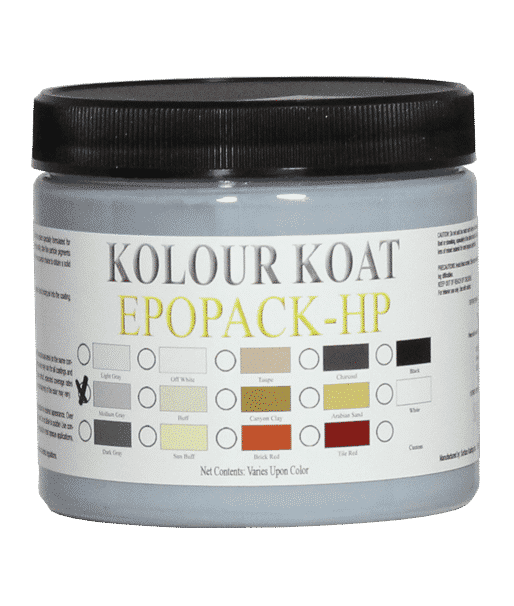 SurfKoat Epo Pack 100% Solids Epoxy Color Floor Coating Additive. Colors for epoxy floor paint additives. Garage floor paint color for epoxy enamel finishes.