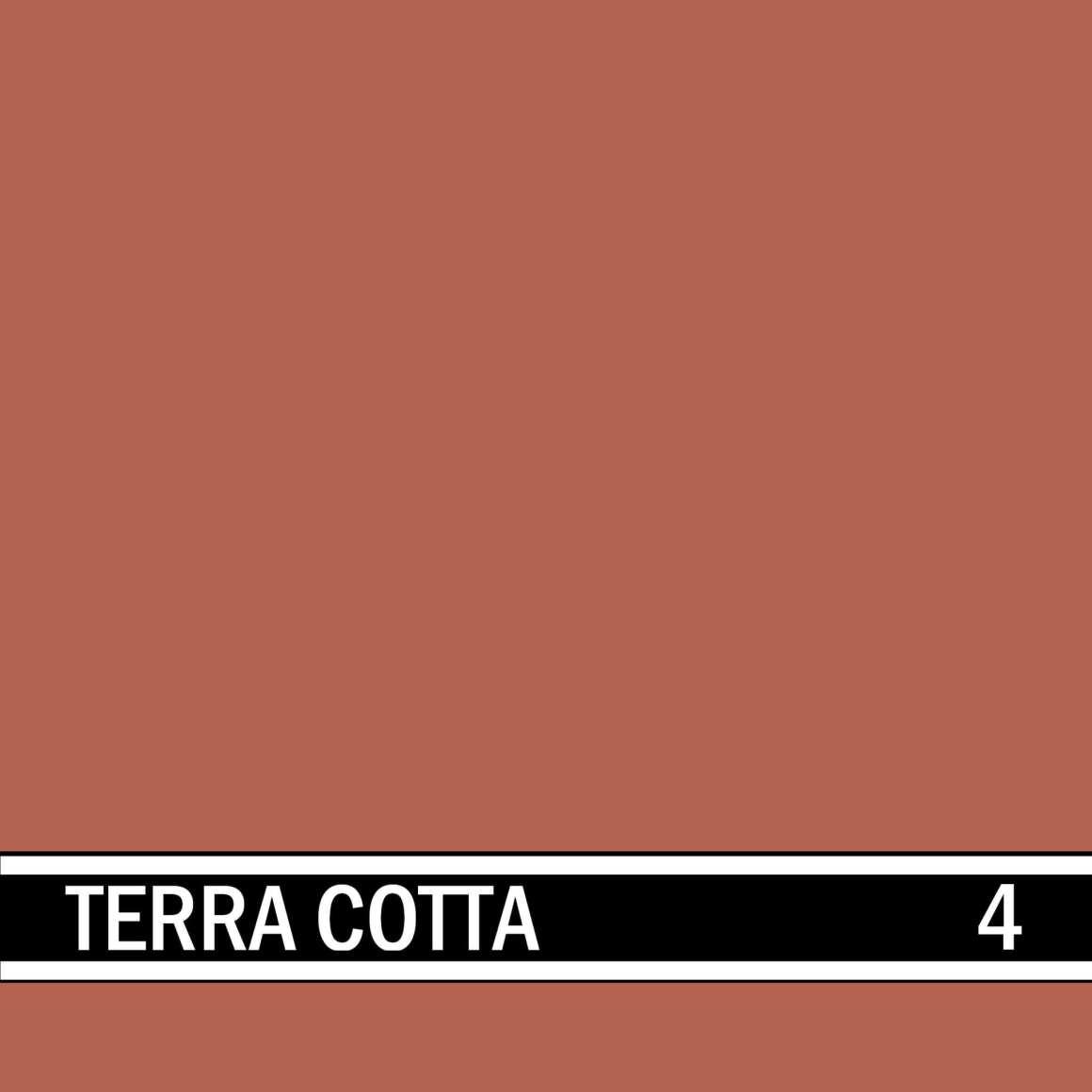 Terra Cotta integral concrete color for stamped concrete and decorative colored concrete