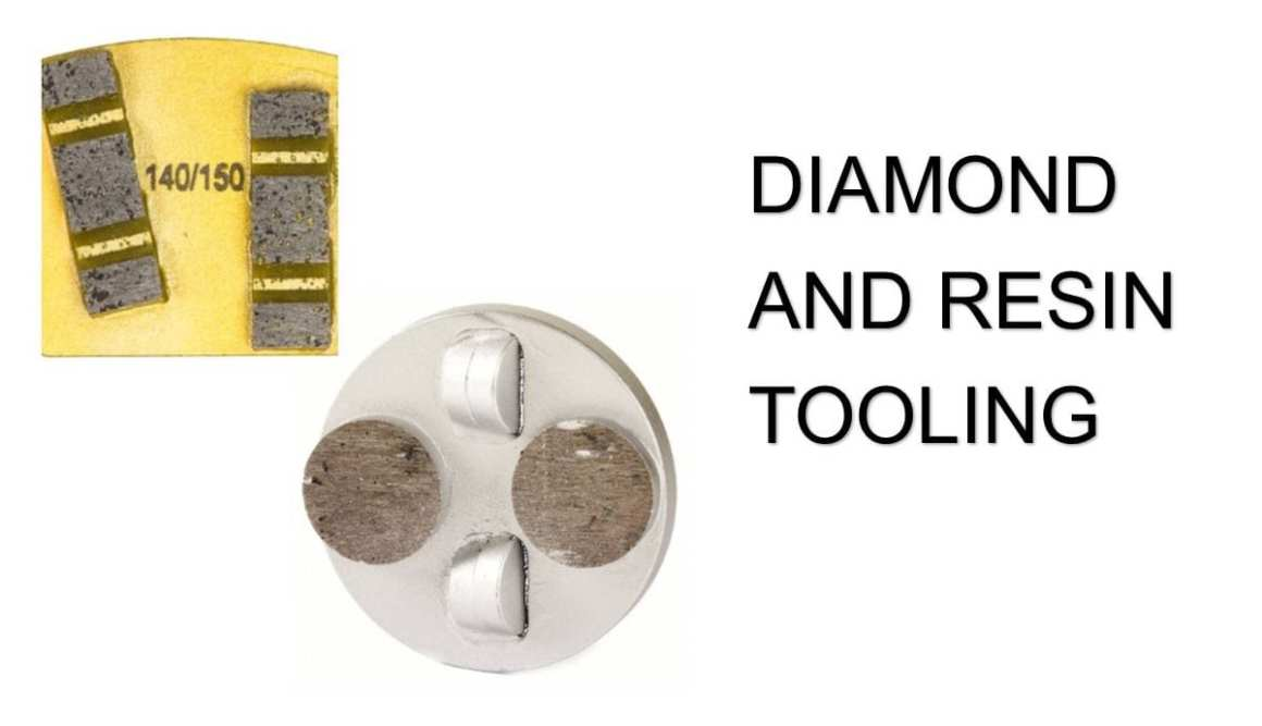 Concrete Diamond Tooling and Polished Concrete Resin Tools and Concrete Coating Removal Tools