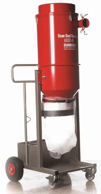 Scanmaskin Scan Dust 6000 Industrial Vacuum Dust Separator for Dust Extractor Vacuums