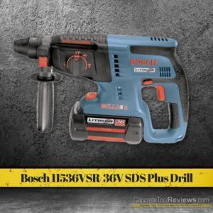 Bosch 11536VSR Litheon 36-Volt Lithium-Ion 1-Inch SDS Plus Rotary Hammer