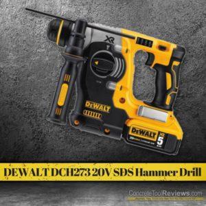 Dewalt DCH273 20V Cordless SDS Plus Rotary Hammer