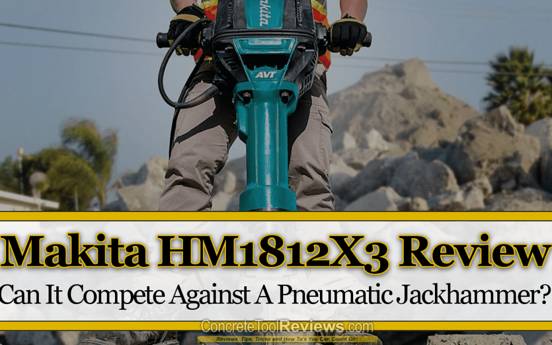 Makita HM1812X3 70 Lb Demolition Breaker Hammer – Can It Compete Against A Pneumatic Jackhammer?