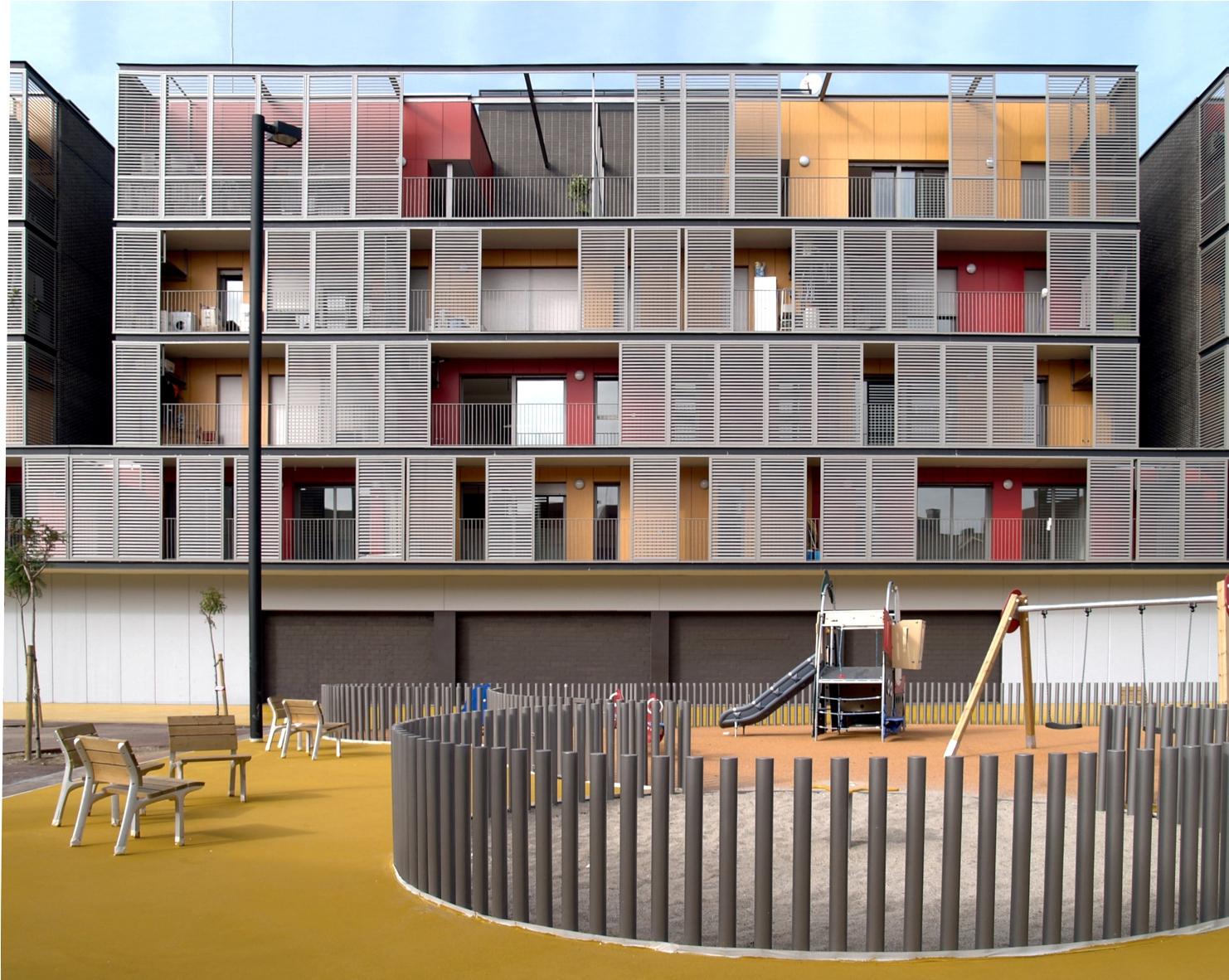 Conjunto Habitacional  Barcelona  concursosdeprojetoorg