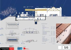 Concurso de Arquitetura - Mercado Público de Lages - 3º Lugar - Prancha 05
