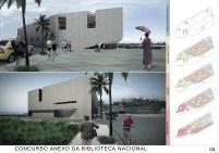 Concurso Anexo da Biblioteca Nacional - Menção Honrosa - Prancha 4