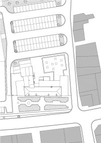 Studio Farris Architects - City Library Bruges -Planta de Locação