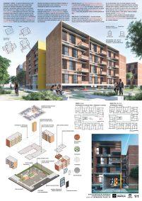Premiados – Habitação Coletiva – Sol Nascente – Terceiro Lugar - Prancha Síntese