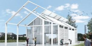 Premiados – Concurso de Ideias para Estudantes – #020 Pavilhão Projetar Itinerante - Primeiro Lugar - Imagem 01