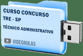 TRE SP – Técnico Área Administrativa Curso Concurso Vídeo Aulas