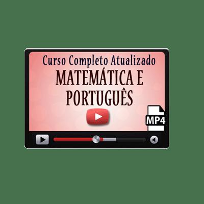 Curso Completo de Matemática e Português Nível Médio e Fundamental