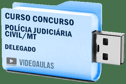 Curso Concurso Vídeo Aula Polícia Judiciária Civil Mt Delegado 2018