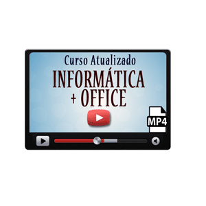 Informática Windows Office Word Excel Curso Vídeo Aula