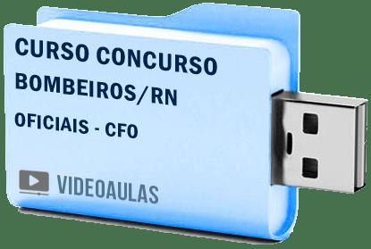 Corpo Bombeiros Rn Oficiais CFO Curso Vídeo Aulas