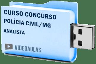 Curso Concurso Polícia Civil MG Analista Vídeo Aula