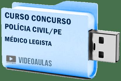 Curso Concurso Polícia Civil PE Médico Legista Vídeo Aula