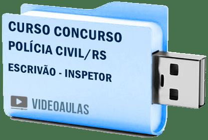 Curso Vídeo Aula Polícia Civil RS Escrivão Inspetor 2018