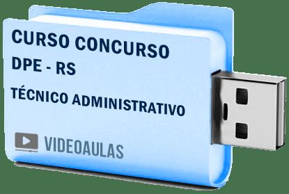 Defensoria Pública Técnico Administrativo DPE RS Curso Concurso Vídeo Aulas