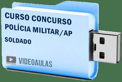 Curso Concurso Polícia Militar AP Soldado Videoaulas Pendrive