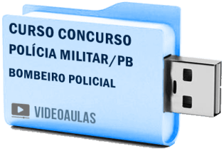 PM Polícia Militar – PB – Bombeiro Policial – CFSD Curso Concurso Vídeo Aulas