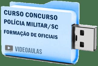 Curso Concurso Polícia Militar PM – SC Formação Oficiais Vídeo Aulas