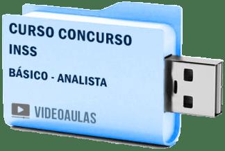 Concurso INSS Analista Curso Básico Videoaulas