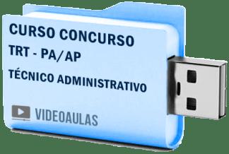 TRT PA / AP Técnico Administrativo Curso Concurso Vídeo Aulas