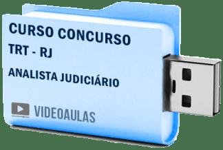 Curso Vídeo Aulas Concurso TRT – RJ – Analista Judiciário